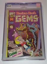 Richie Rich Gems Comic #2 November 1974 CGC 8.0 Harvey Comics - $40.00