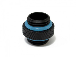"XSPC G1/4"" 5mm Male to Male Fitting - Matte Black Finish - $7.32"