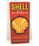 Very Rare 1939 Shell Map of The 1940 New York World's Fair + Metro NYC Too! - $37.39