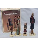 Kurt S Adler Carolling Caroling Family Set of 4 Kandy's Folk Art - $31.68