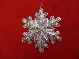 1973 Gorham Sterling Silver Snowflake Ornament - $67.50