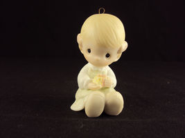 Precious Moments E-5391, Love Is Kind, Issued 1984, Suspended 1989, Free Ship - $19.95