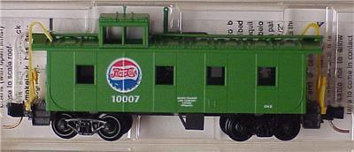 Micro Trains 100080 Pepsi-Cola Caboose 10007