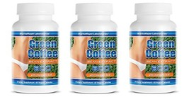 Pure Super Green Coffee Extract 800mg, 180 Capsules - $31.86