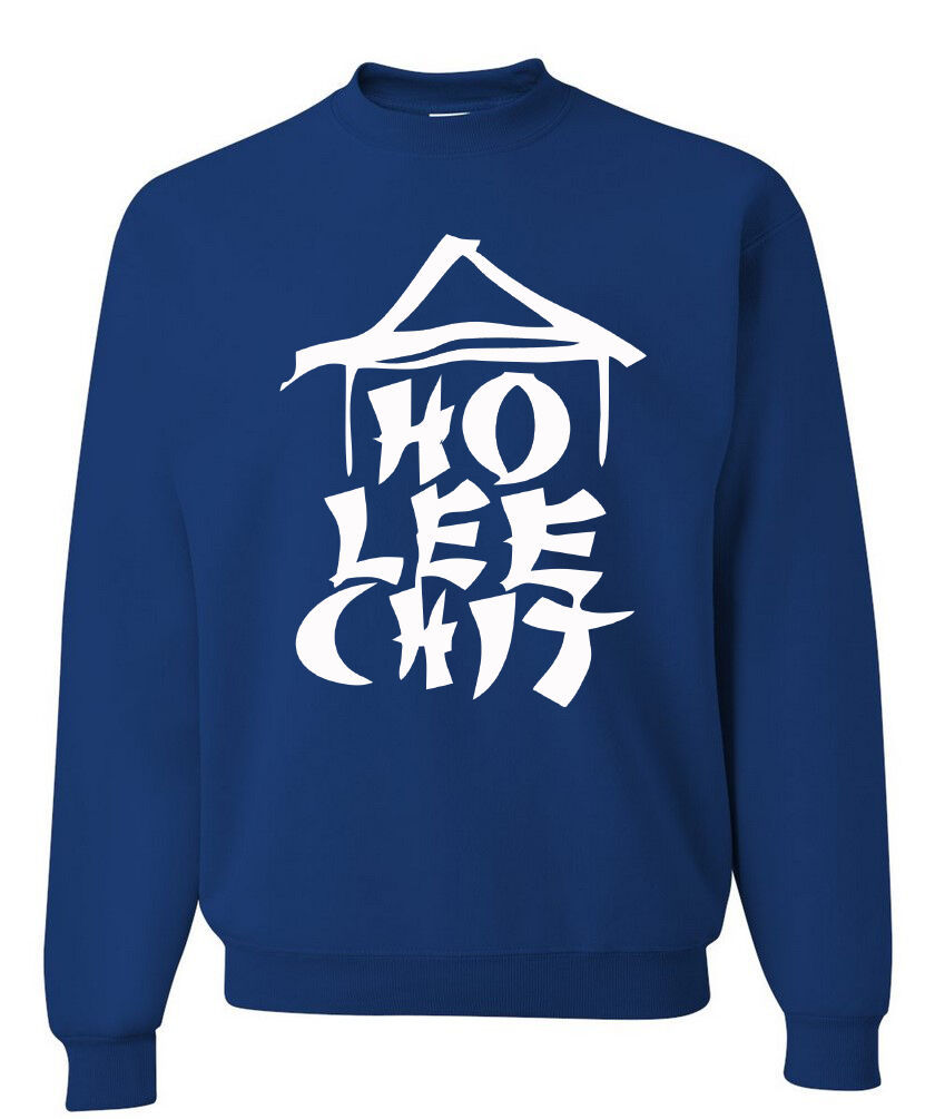 Ho Lee Chit Funny Sweatshirt Holy Sh*t Asian Chinese Character Parody Humor image 3
