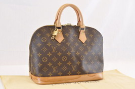 Louis Vuitton Monogram Alma Hand Bag M51130 Lv Auth 7036 - $680.00