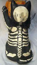 Bethany Lowe Skeleton Cat Candle Holder image 4