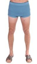 New $290 Dolce & Gabbana Men Blue Cotten Blend Logo Casual Short Shorts M - $115.53