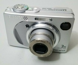 Sony Cyber-shot DSC-W1 5.1MP Digital Camera - Silver *GOOD* Free Shipping! - $19.79