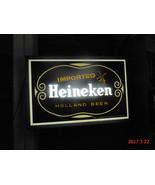 Heineken Beer Illuminated Bar Sign Works - $129.99