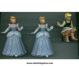 BULLY / BULLYLAND Walt Disney PVC plastic figures MINNIE / Cinderella / ... - $20.00