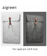 AIGREEN® Sleeve Case Woolen Felt Apple IPad, Bag For IPad Pro High Quali... - $12.81