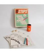 Vintage Hasbro Six Steps Dice Game Complete 1966 - $14.84