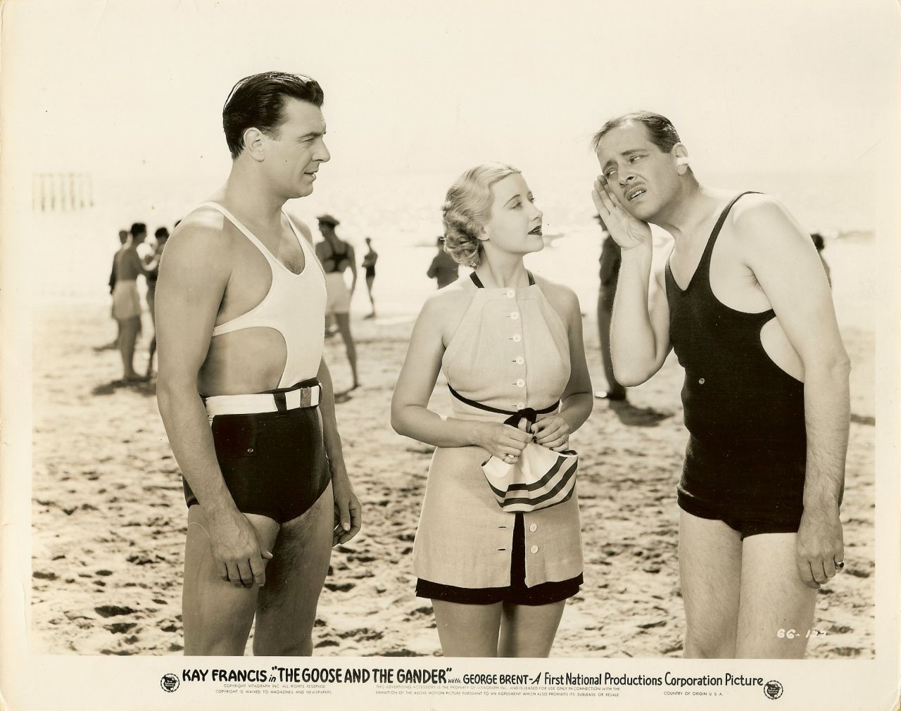 Kay Francis George Brent Swimsuits Org 1935 Movie Photo