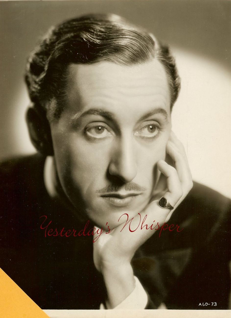 UNKNOWN Actor ORIGINAL Publicity Portrait PHOTO H655