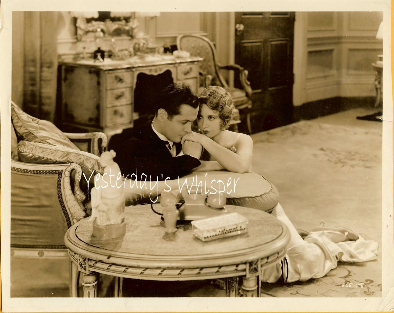 Robert Montgomery Sultry Irene Purcell PRE Code Photo