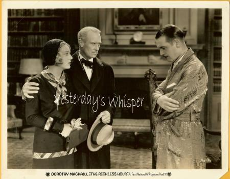 1931 Film Photo Ziegfeld Dorothy Mackaill Reckless Hour K693
