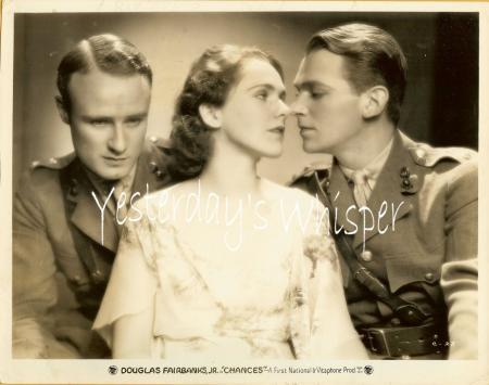1930s Vintage Photo Douglas Fairbanks Jr. Rose Hobart K516