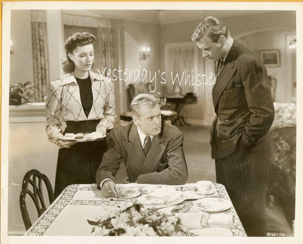 Eleanor Parker Charles Lang Richard Travis Movie Photo