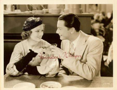 Myrna Loy Robert Young Vintage 1932 Pre-Code Era Photo