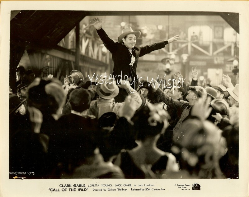 Clark GABLE Victory Call of the WILD Oiginal 1935 PHOTO
