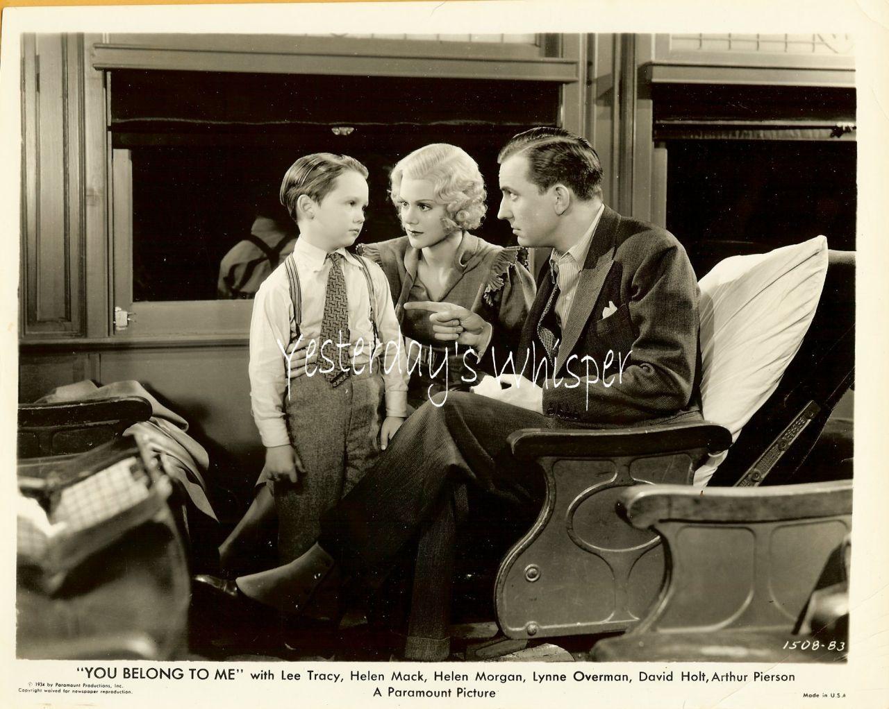 Helen Mack Lee Tracy David Holt Train 1934 Movie Photo