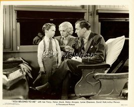 Helen Mack Lee Tracy David Holt Train 1934 Movie Photo - $14.99