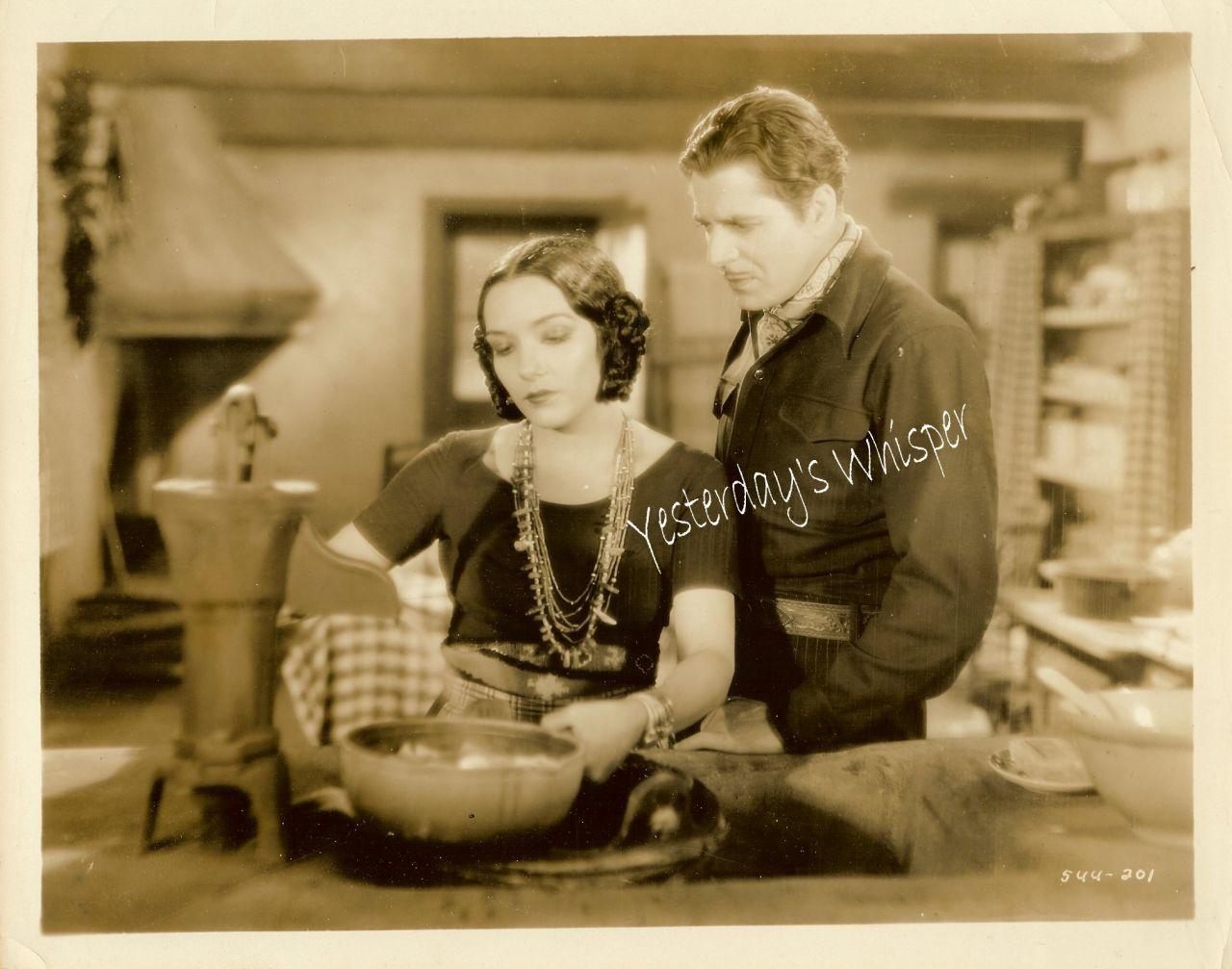 Lupe Velez Warner Baxter DeMille Squaw Man 1931 Photo