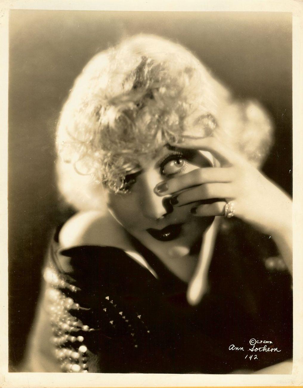 Ann Sothern Original Vintage Photograph