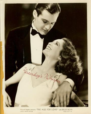 Billie Dove Charles Starrett Howard Hughes 1931 Photo