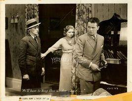 Clara Bow Regis Toomey KICK IN Vintage Movie 8x10 Photo - $9.99