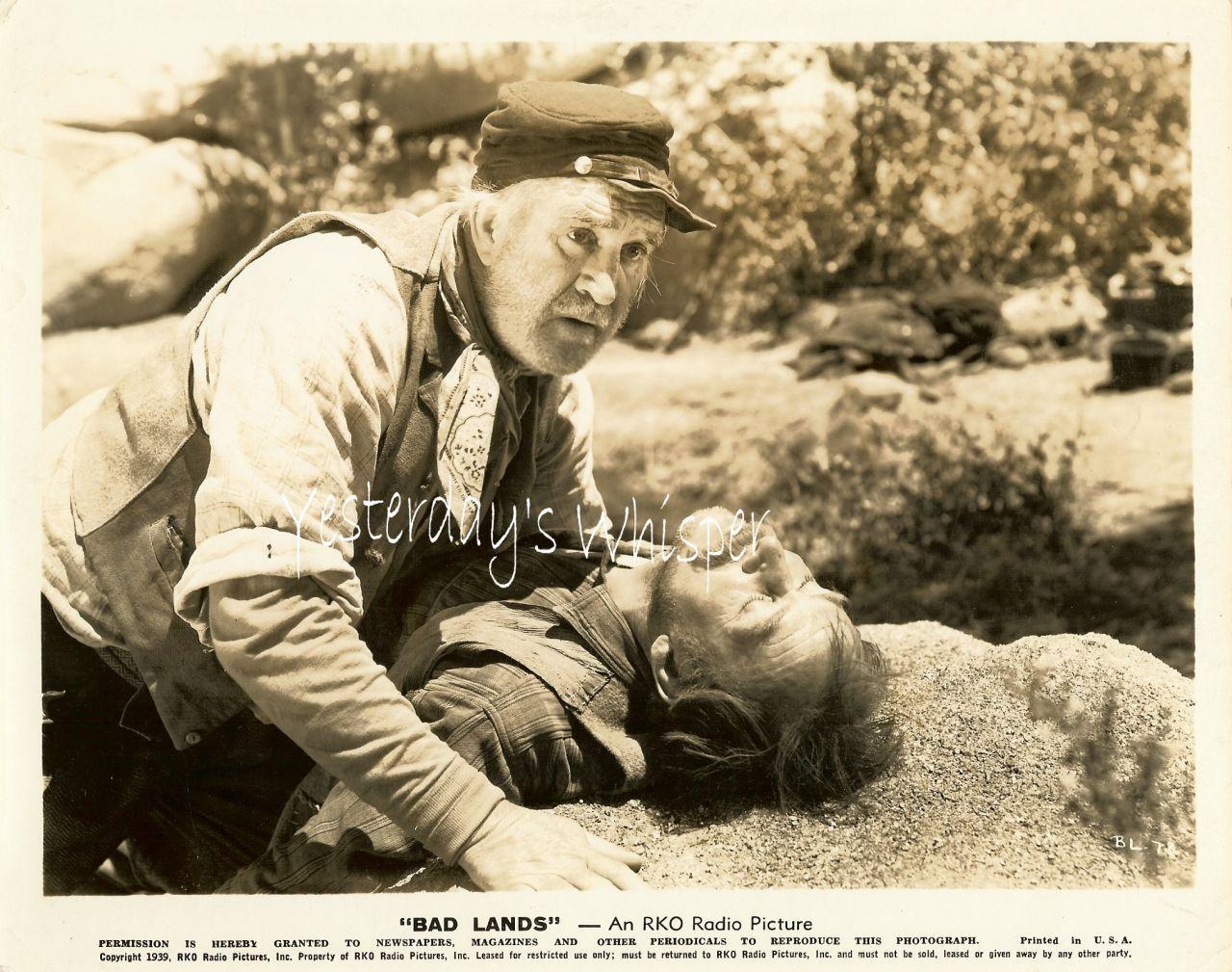 Bad Lands UNKNOWN Actors 1939 RKO Radio Movie Photo
