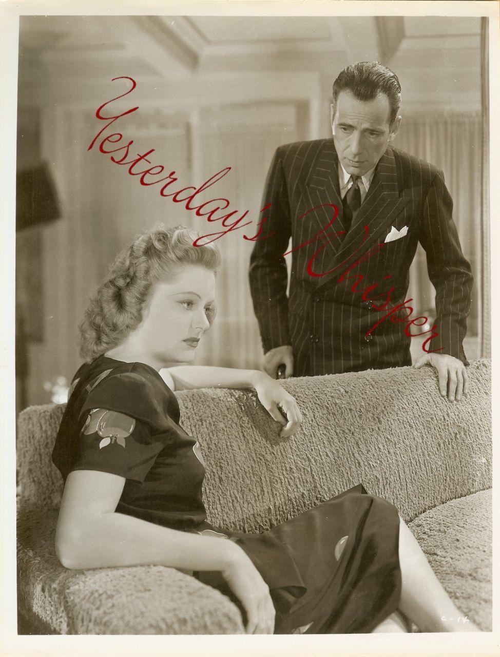 Humphrey Bogart Alexis Smith Conflict Org Photograph J14