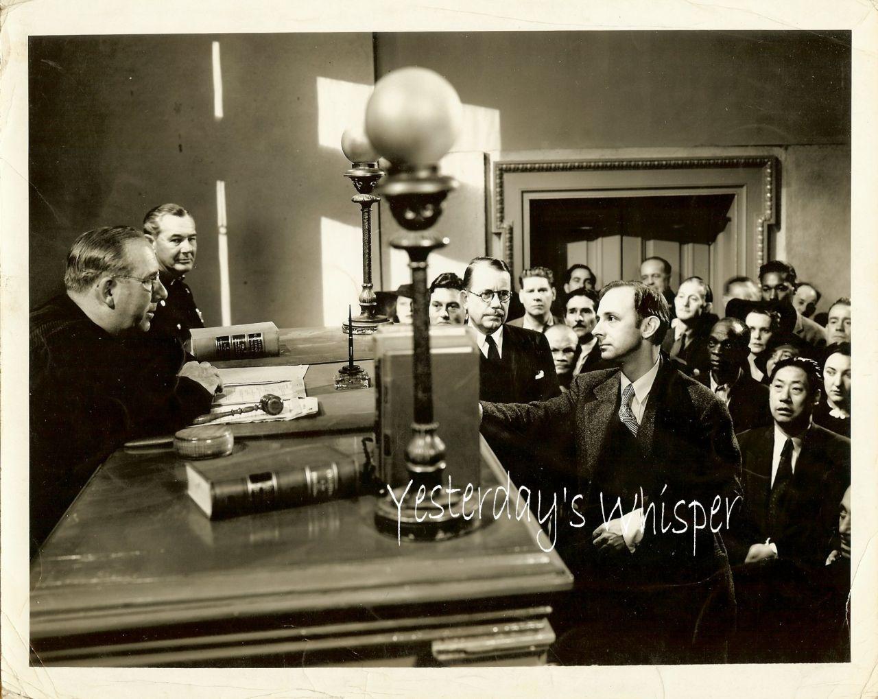 John Qualen 1940 Vintage Columbia Movie Photo M.B. Paul