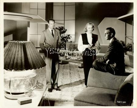 Gary Cooper Pat Neal Ray Massey The Fountainhead Photo