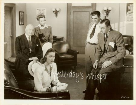 Eleanor Parker Jane Wyman Charles Wilson VINTAGE PHOTO