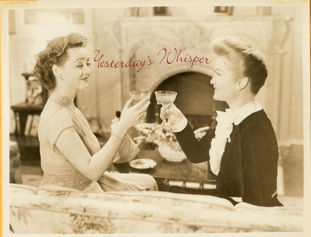 Bette Davis Miriam Hopkins OLD Acquaintane Movie PHOTO