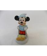 Disney Vintage Mickey Mouse Skiing Figurine  - $25.00