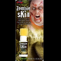 Walking Dead Fake-ZOMBIE SKIN-Torn Scars Wound FX Special Effects Horror... - $4.92