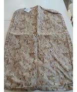 USMC MARINE CORPS DESERT TAN MARPAT CAMO CAMOUFLAGE WATERPROOF SUIT GARM... - $28.70