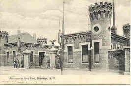 Brooklyn Navy Yard New York City 1907 Vintage Post Card - $6.00