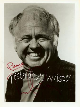 Mickey Rooney Autographed Publicity Promo Photograph