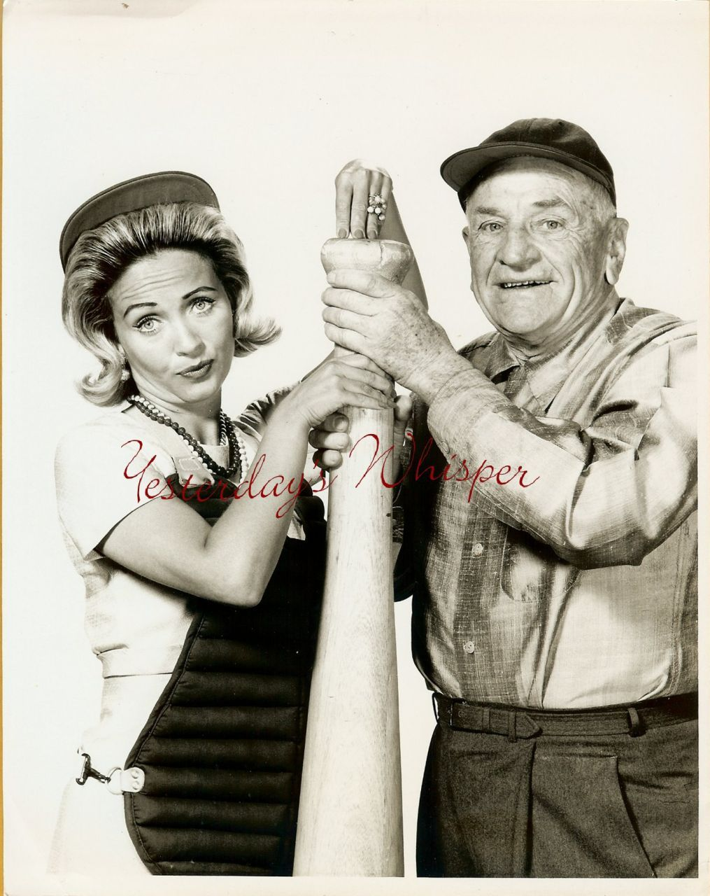 1960s TV Photo Casey Stengel Jane Powell Young at Heart k404