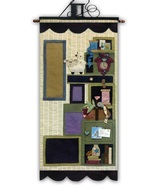 Tuffets Cupboard Part 2 P1045 Applique/Feltwork pattern with button pack... - $24.95