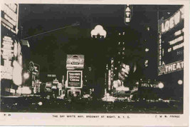 The Gay White Way Broadway1907 New York City circa 1907 Post Card - $6.00
