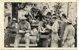 Mail Call Camp Pickett Virginia 1943 Vintage Post Card - $6.00