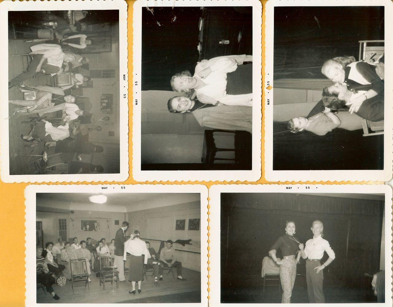 Alva LACY 5 1955 Org ACTING Class SNAPSHOT PHOTOS F557