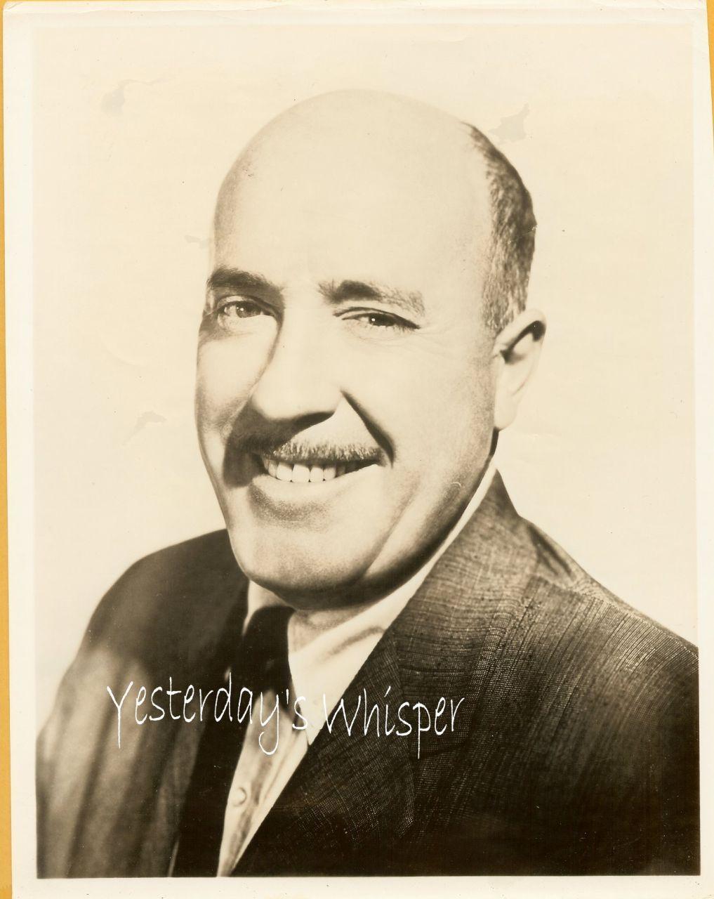 Fred Clark 1950s Publicity Promo Portrait Vintage Photo