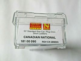 Micro-Trains # 18100090 Canadian National 50' Standard Box Car N-Scale image 3