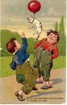The Bad Boys  Paul Finkenrath 1909 vintage Post Card - $8.00
